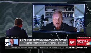 Strajk kobiet. Aleksander Kwaśniewski komentuje słowa Andrzeja Dudy