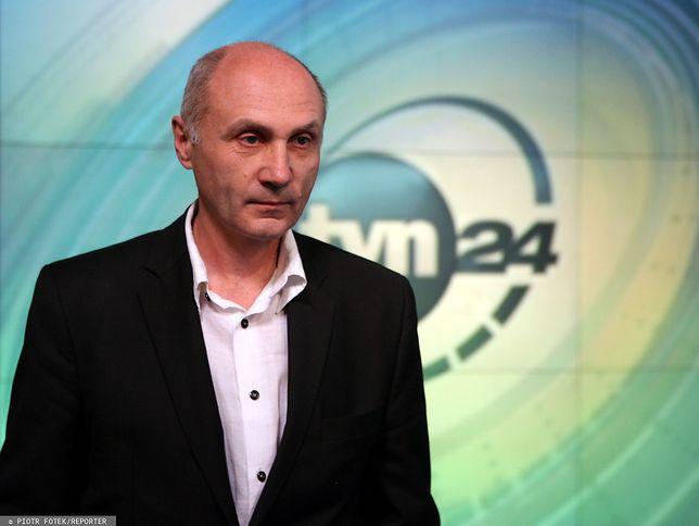 Adam Pieczyński (redaktor naczelny TVN24) reaguje na łączenie stacji ze śmiercią Jana Szyszki