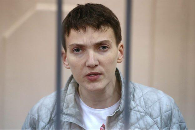 Sprawa Nadii Sawczenko. Adwokaci ukraińskiej lotniczki: sąd nie wskazał jej winy, Nadia ma zamiar wznowić strajk głodowy