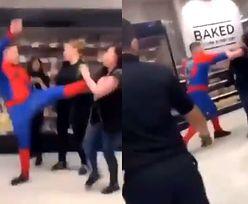 """""""Spider-Man"""" poprowadził atak w sklepie. 6 osób rannych"""