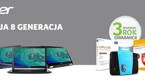 Kupujesz laptop Acera? Odbierz prezenty warte 800 złotych – w zestawie m.in. Microsoft Office