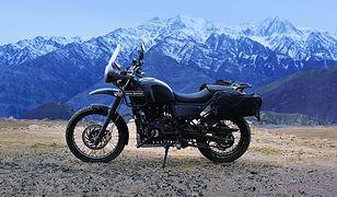Royal Enfield odświeży Himalayana. Będzie wygodniejszy i lepiej wyposażony