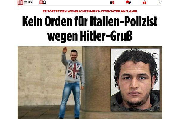 Policjanci, którzy zastrzelili zamachowca z Berlina, bez odznaczeń. Sympatyzują z neofaszystami