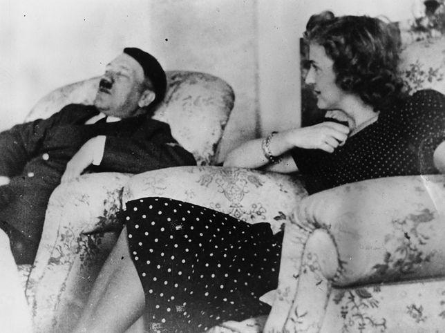 Zawsze dzielił ich dystans. Adolf Hitler i Ewa Braun, styczeń 1940 r.