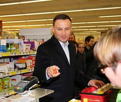 Jajka niezgody w zakupach Andrzeja Dudy. O ile wzrosły ceny żywności od poprzedniej kampanii prezydenckiej?