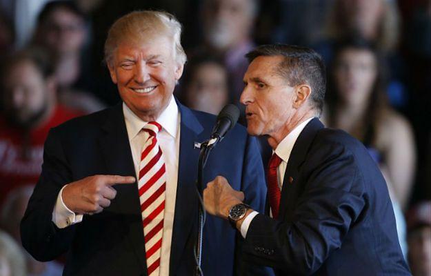 Donald Trump stawia na gen. Michaela T. Flynna. Dla Polski to niedobra wiadomość