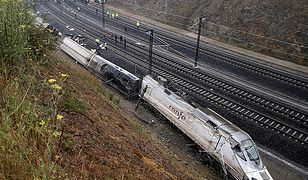 Ambasada RP w Madrycie: wśród 67 ofiar katastrofy pociągu nie ma Polaków