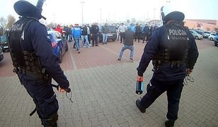 Śląsk: policja znów starła się z pseudokibicami