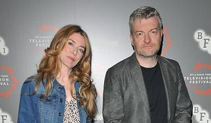 "Annabel Jones i Charlie Brooker, twórcy ""Black Mirror"""