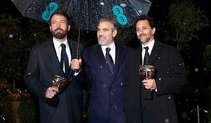 Aktorzy Ben Affleck, George Clooney i Grant Heslov (od lewej)