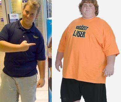 Daniel Wright ważył 205 kg na początku programu