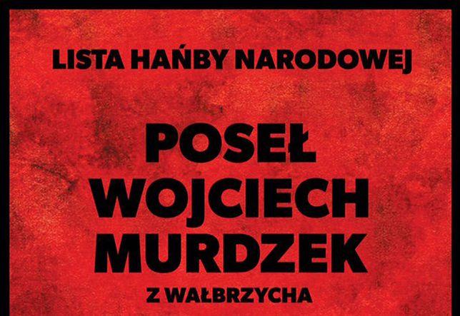 """Lista hańby narodowej. """"Zamach lipcowy"""""""