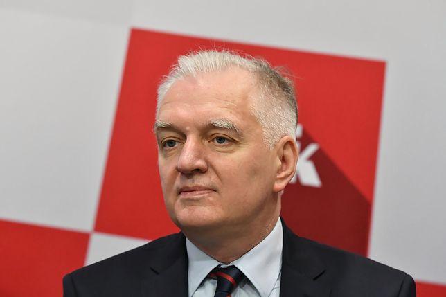 Jarosław Gowin uderza w Kazimierza Kujdę i PiS