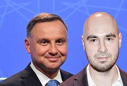 """Euro 2020: Jakub Żulczyk przypomniał wpis Andrzeja Dudy. """"Proroczy"""""""