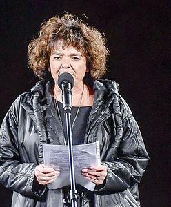 """Katarzyna Grochola ostro o manifestacji w Warszawie. """"Mieliśmy straszną szczekaczkę"""""""