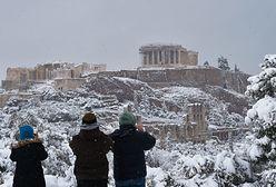 Opady śniegu w Grecji. Czegoś takiego nie było od 12 lat