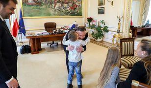 Kuba Jankowski był gościem w Pałacu Prezydenckim