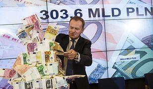 W przyszłym budżecie polska część unijnego tortu będzie znacznie mniejsza