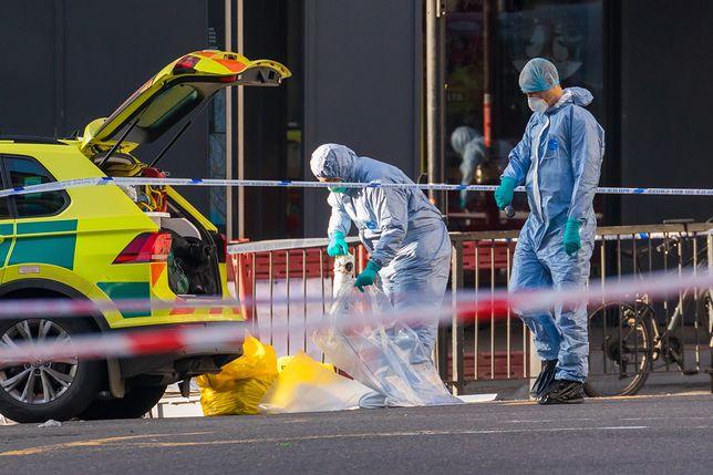 Wielka Brytania. Służby na miejscu piątkowego ataku terrorystycznego w Londynie
