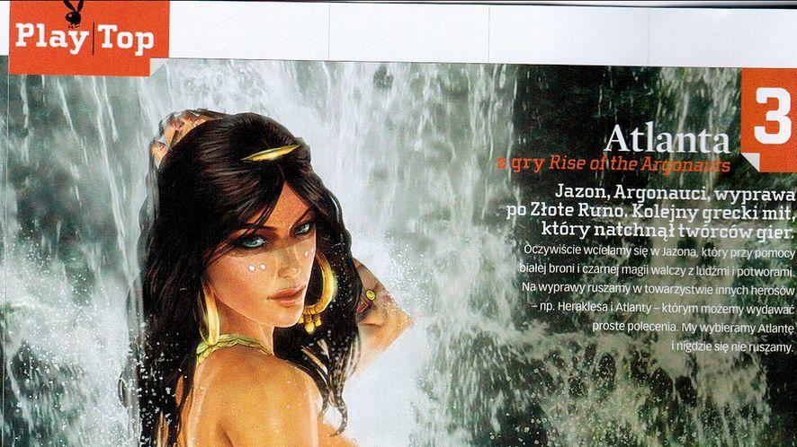 W najnowszym Playboyu dziewczyny z gier komputerowych
