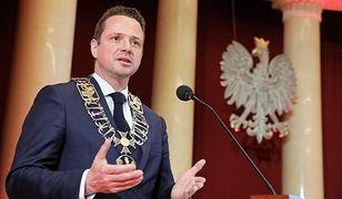 Rafał Trzaskowski został w czwartek zaprzysiężony na prezydenta Warszawy