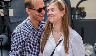 Julia Królikowska chciała wziąć ślub w sierpniu. Ubiegł ją brat