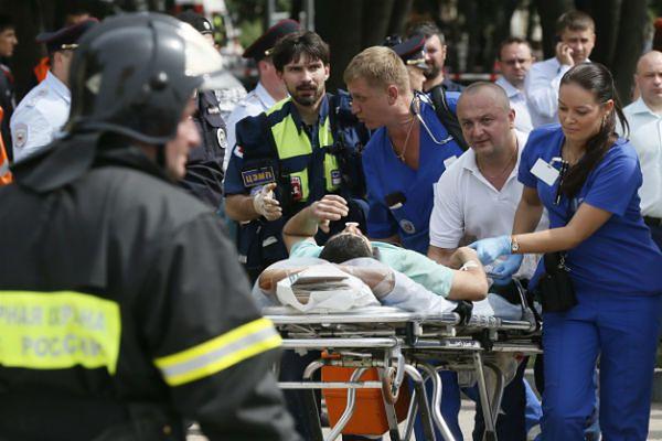 W katastrofie w moskiewskim metrze zginęły 22 osoby