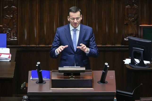 Mateusz Morawiecki bronił polityki socjalnej rządu