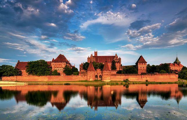 Zamek Krzyżacki w Malborku - jedna z największych atrakcji regionu