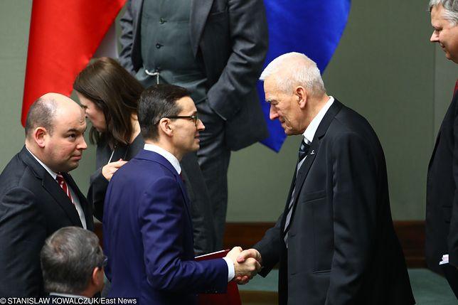 """Kornel Morawiecki strofuje premiera. """"Synu, zabierz 300+ bogatym"""""""