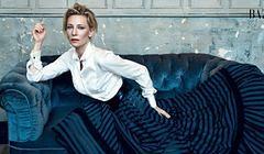 "Cate Blanchett w ""Harper's Bazaar"" UK ujawnia zaskakujące plany"