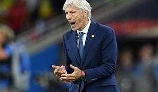 Trener Kolumbii nie krył emocji