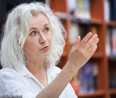 Manuela Gretkowska często zabiera głos w sprawach kobiet.