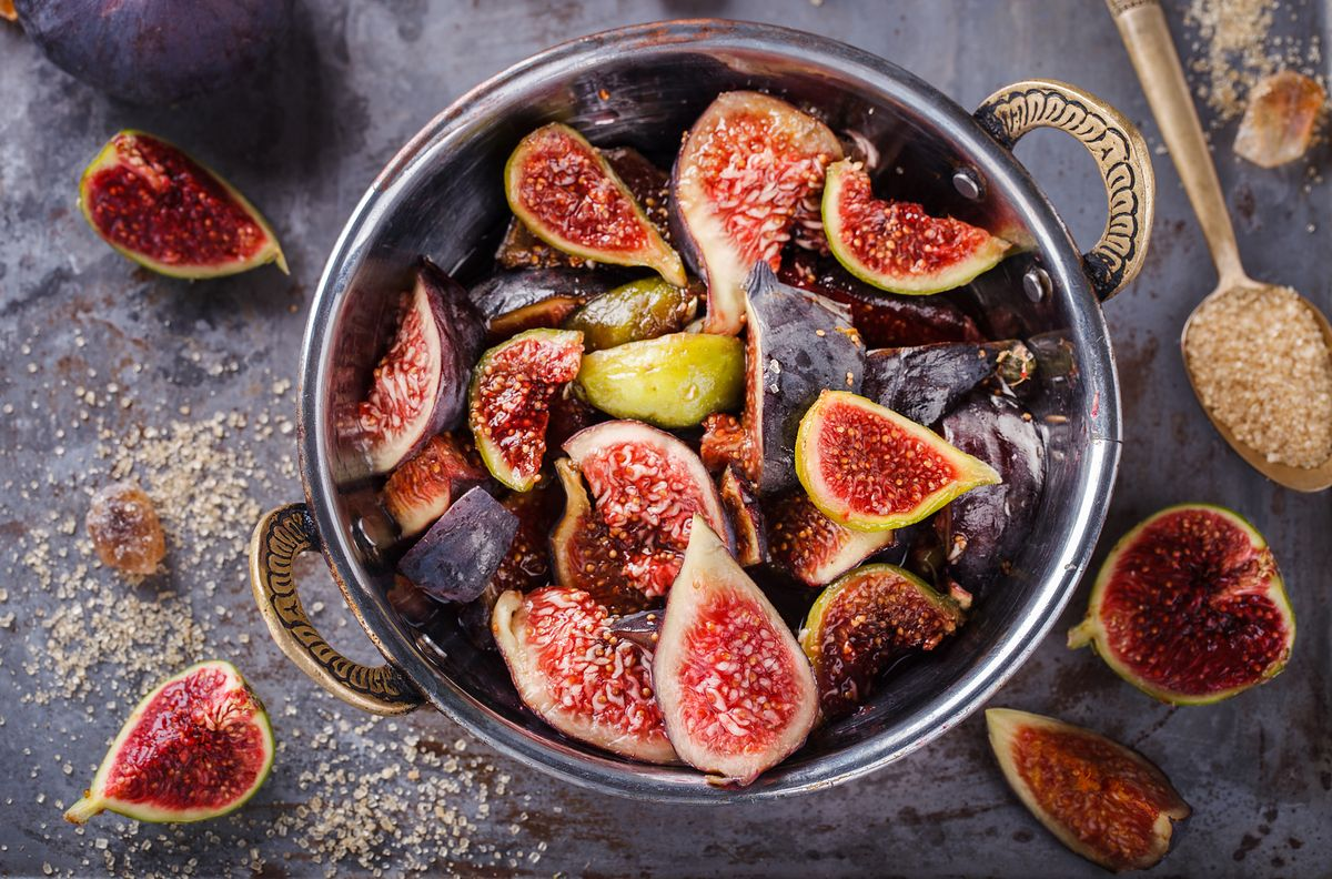Dojrzałe figi zbiera się jesienią