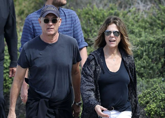 Tom Hanks i Rita Wilson - zdjęcie zrobiono 6 marca w Australii.