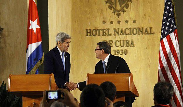 Kuba i USA porozumiały się co do dalszych działań dla rozwijania stosunków