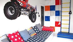 Kolorowy pokój rodzeństwa: niebanalny pomysł na pokój dziecka. Aranżacje