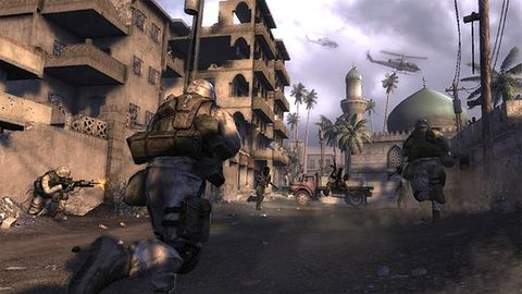 Żołnierze - gracze wspierają Six Days in Fallujah