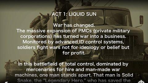 I jeszcze jedna galeria z Metal Geara na iPhone