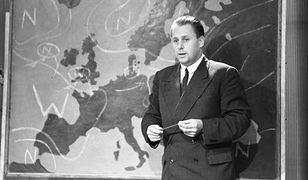 Czesław Nowicki był kultowym prezenterem pogody w TVP