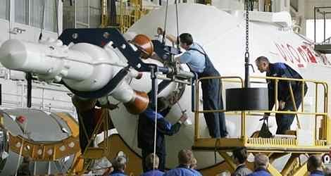 Sojuz TMA-12 startuje
