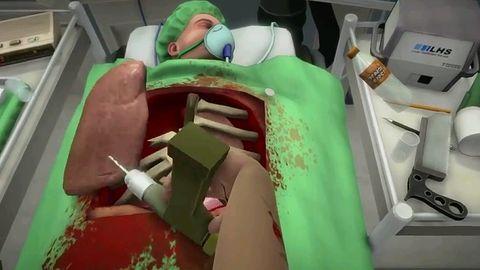 Na PS4 też poudajemy fajtłapowatego chirurga