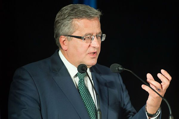 Bronisław Komorowski: ratyfikacja umowy UE-Ukraina bardzo ważna
