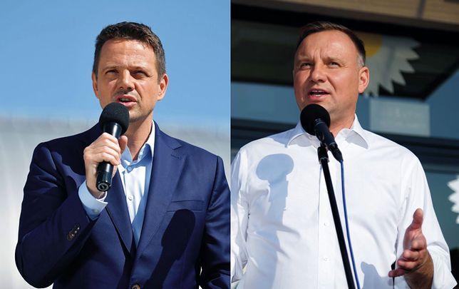Najnowszy i ostatni sondaż prezydencki. Rafał Trzaskowski coraz bliżej Andrzeja Dudy