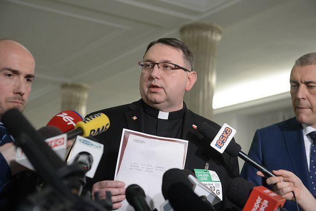 Ks. Tomasz Jegierski ma w sprawie związanej z Markiem P. status poszkodowanego