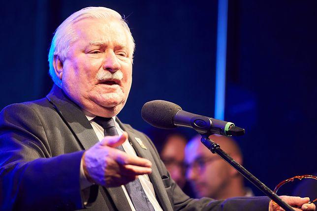 Lech Wałęsa grozi Patrykowi Jakiemu procesem