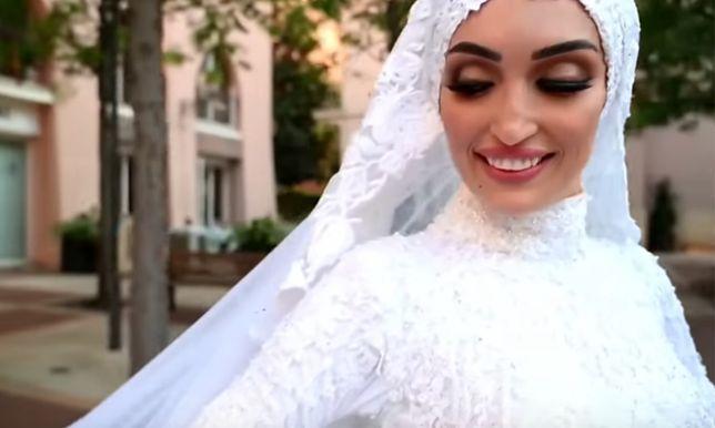 Wybuch w Bejrucie. Panna młoda opisała eksplozję