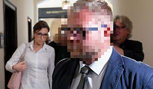 Rafał P. i jego żona Karolina pojawili się w sądzie