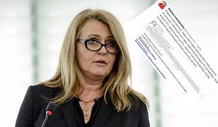 Elżbieta Łukacijewska zwraca uwagę wiadomości o raporcie smoleńskim, które spływają na skrzynki pocztowe europosłów