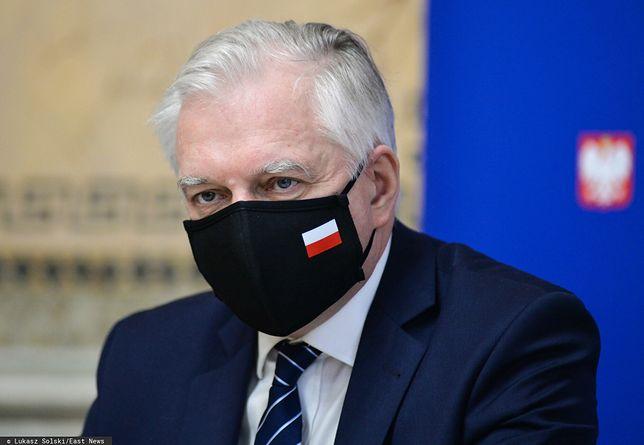 Jarosław Gowin pytany był o kwestię konfliktu w Porozumieniu